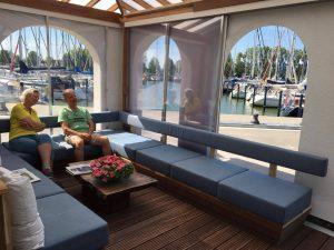 Loungehoek 5 jachthaven Marina Makkum
