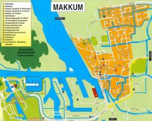 Plattegrond Marina Makkum